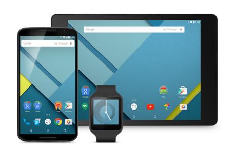 Anteprima Android 5.0