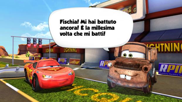 Cars veloci come saetta i personaggi del film d