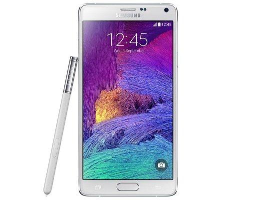 Galaxy Note 4_white