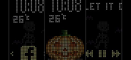 Halloween Dot View Screens 700x325