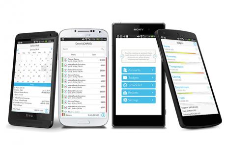 MoneyWiz Android header