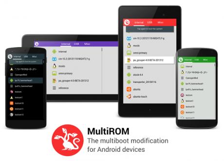 MultiROM Galaxy Note 2