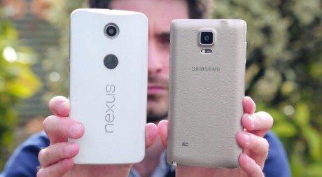 Nexus 6 Galaxy NOte 4 e1414453252911