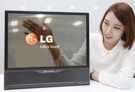 Transparent LG OLED 710x483