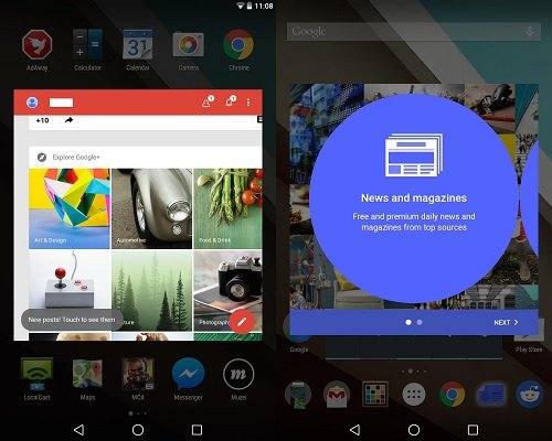 android l finestra