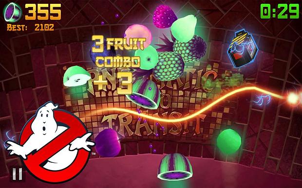 fruit ninja ghostbusters