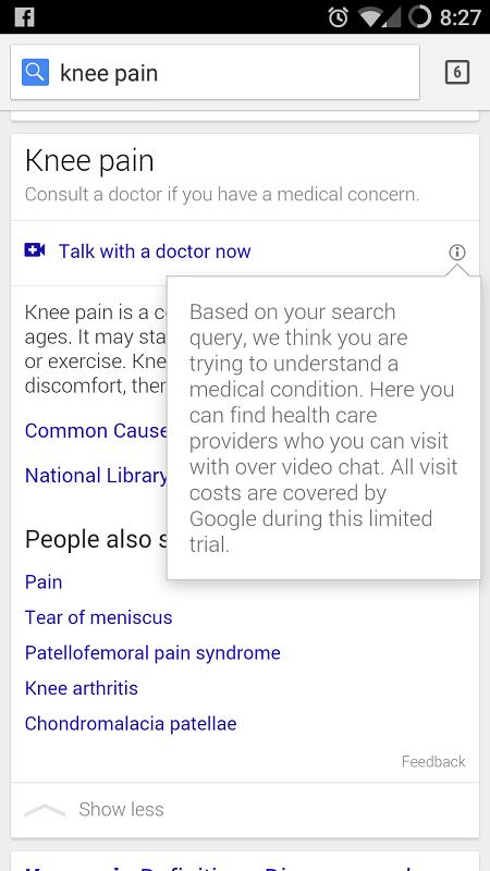 google-health-search-result