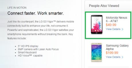 Nexus 6 att