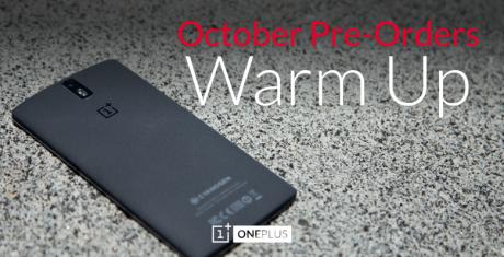 Oneplus warm up