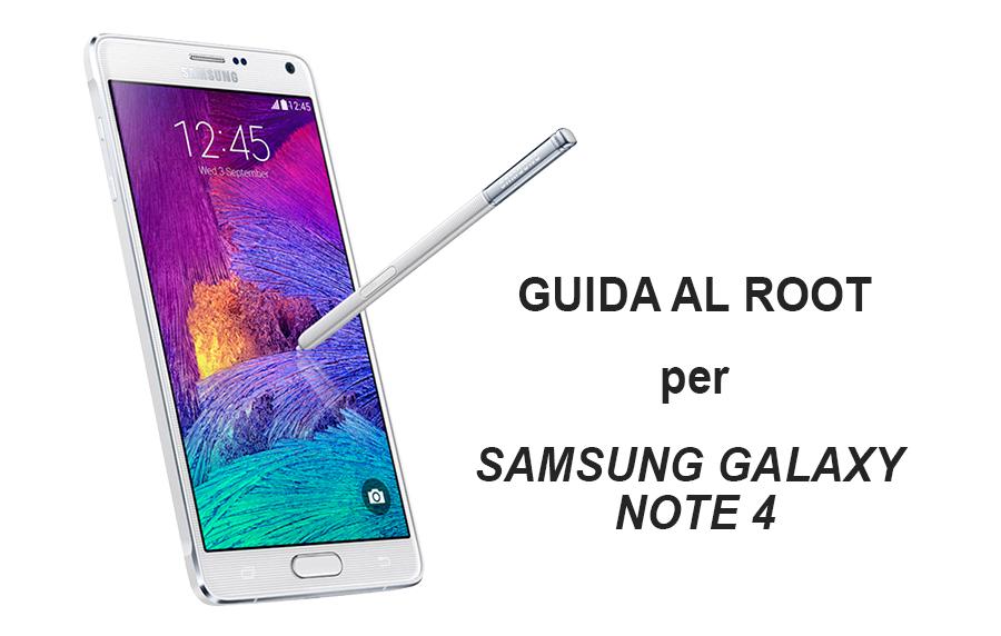 Samsung Galaxy Note 4: guida al Root con CF-Root | TuttoAndroid