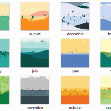 sfondi Google Calendar Material Design