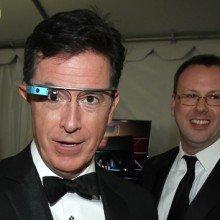 stephen-colbert-google-glass-invision-ap