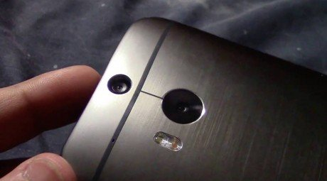The all new htc one 2 m8 duo camera home