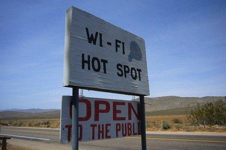 Wi fi hotspot open to public