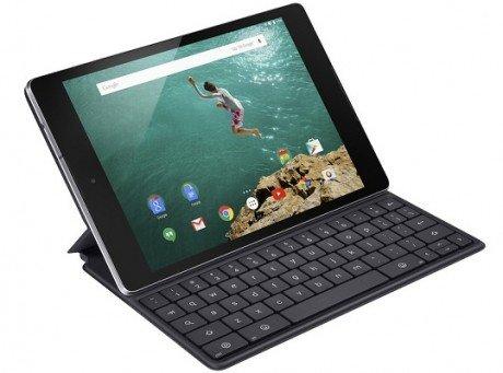 Nexus 9 Angle Black Keybord Folio