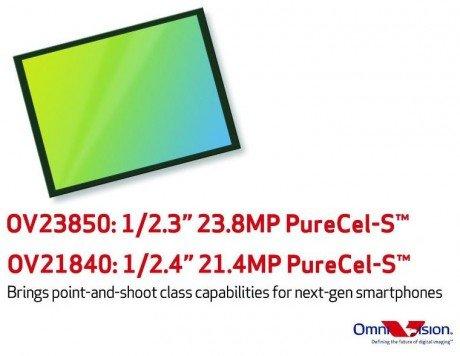 OmniVision OV23850 and OV21840 e1415138413233