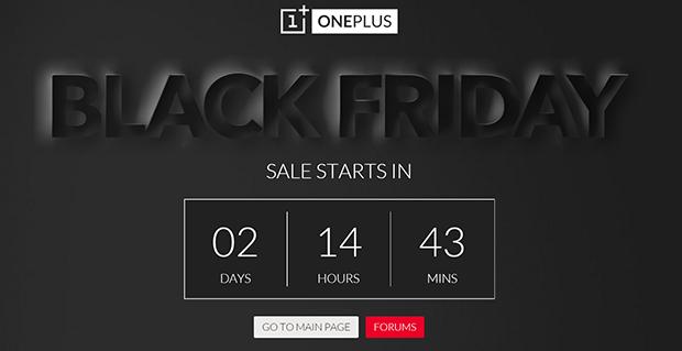 OnePlus BlackFriday