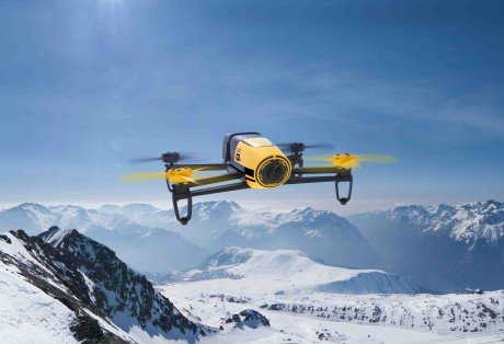 Parrot Bebop Drone Yellow Lifestyle