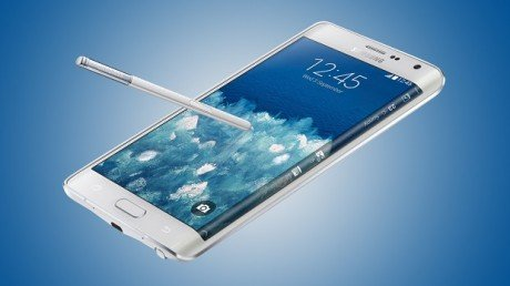 Samsung Galaxy Note 4 and Edge blue