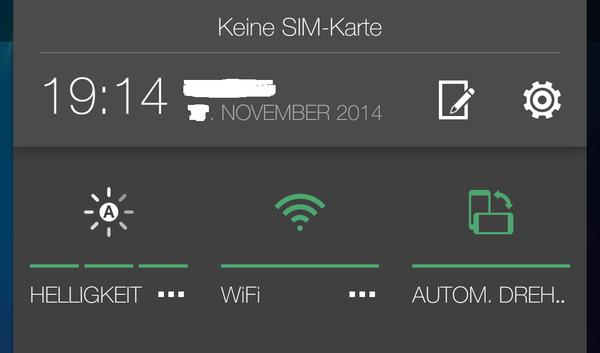 Sense 6 Android 5.0 Lollipo HTC One M8