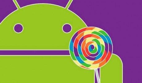 Android 5 lollipop officiel