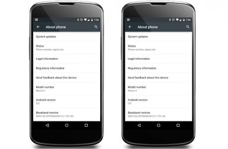 Android 5.0 lollipop nexus 41
