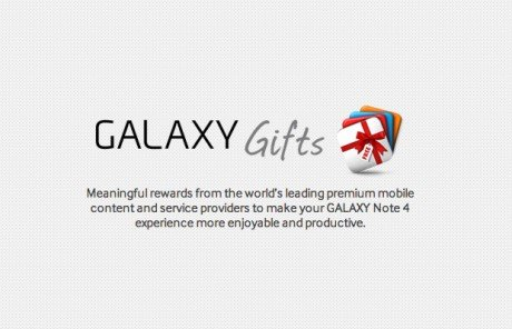 Galaxy gifts note4