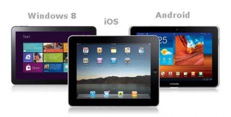 Ipad android windows 8 tablet