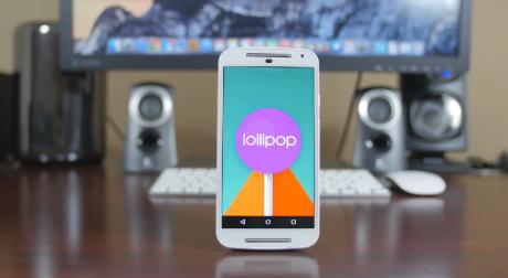 Moto g android lollipop
