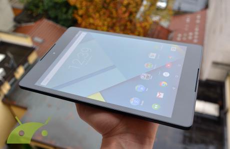 Nexus 9 display