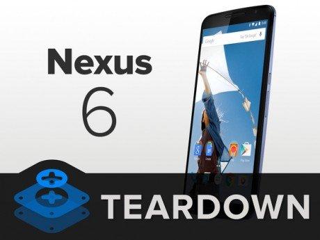 Teardown nexus 6