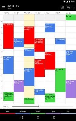 Business Calendar 2-3