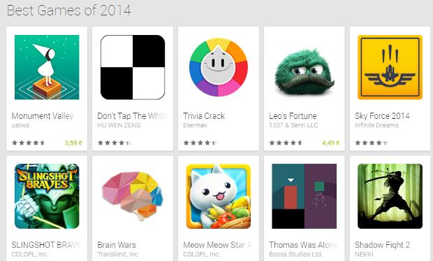 Giochi Google  2014
