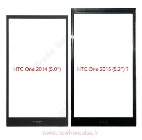 HTC M8 vs M9confronto