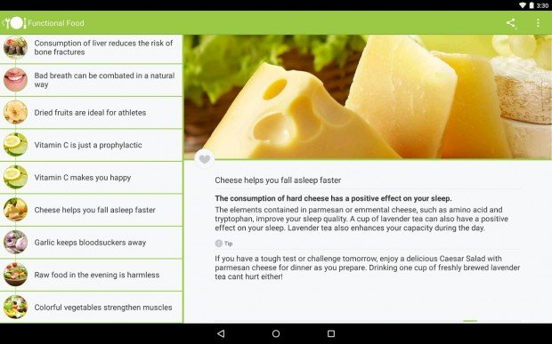 Runtastic Nutrition Quiz-1