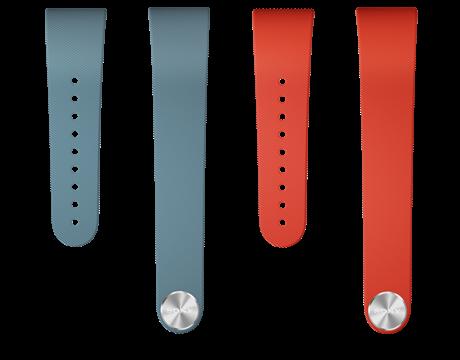 SWR310 Wristband blue red