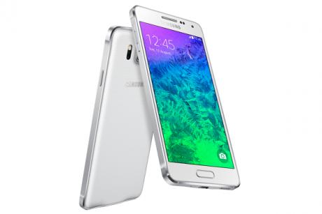 Samsung Galaxy Alpha Bianco