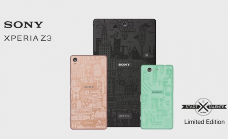 Xperia Z3 series Limited Edition Stadt Talente 640x391