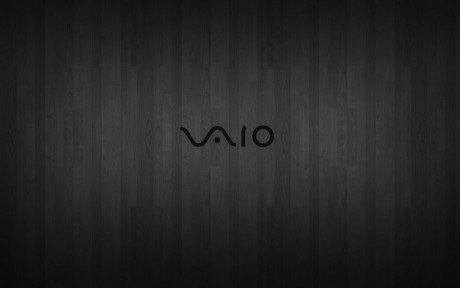 Dark black and white vaio wallpapers