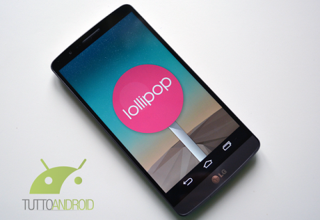 Lg g3 android 5.0 lollipop