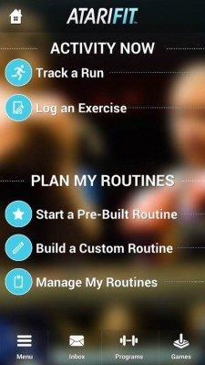 Atari-fitness-app