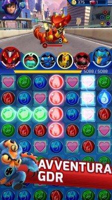 Big Hero 6 Robot Fight-2