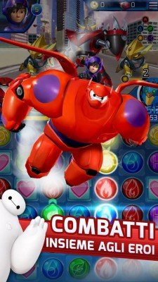 Big Hero 6 Robot Fight-4
