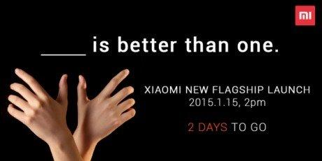 Xiaomi annuncio A
