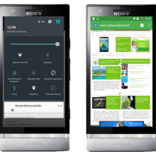Xperia-P-Android-5.0.2 Lollipop CM 12