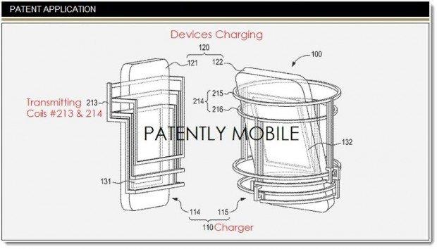 brevetto carica wireless