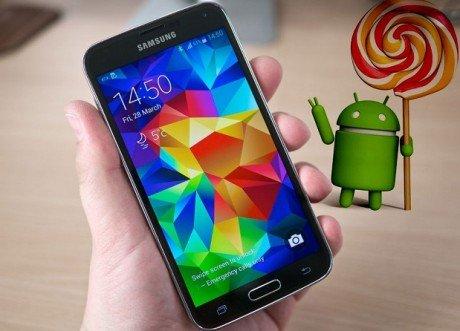 Galaxy s5 lollipop update11