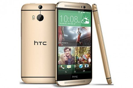 Htc one m8 gold1