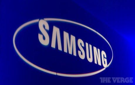 Samsung logo stock