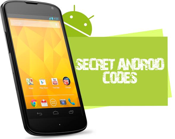 Ecco i codici per accedere ai menu segreti del vostro smartphone Android